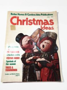 1968 Better Homes and Gardens Magazine by ChristmasVintage, $14.50 ...