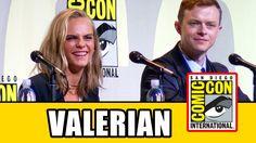 VALERIAN Comic Con Panel Highlights - Cara Delevingne, Dane DeHaan, Luc ...
