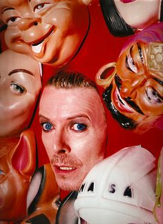 David Bowie, 1995. Photo by © David LaChapelle.