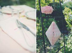 Bröllop, broderade servetter