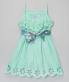 Mint Maya Dress - Toddler Girls OMG THIS IS SO CUTE!