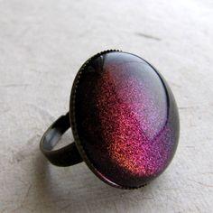 Rainbow Galaxy Ring