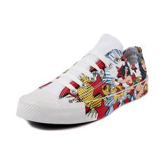 Converse All Star Lo Wonder Woman Sneaker, Wonder Woman - White   Journeys Shoes