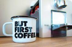 Schöner Becher. Aus Emaille. Für Kaffee. Oder Tee. Spülmaschinenfest. #kaffee #emaille #emaillebecher #coffee