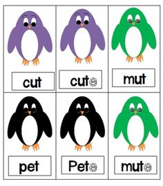 Parade of Penguins, Flipping the Vowel from Short to Long