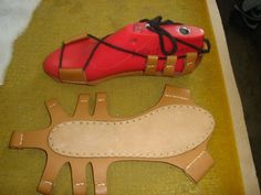 nes_shoes_spartan_delux_015. alternative to sewing leather to bottom of slippers.