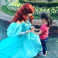 She was so excited to meet Ariel by dyl__pickle