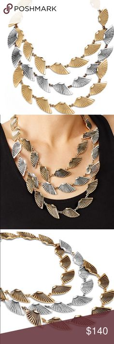 Horizon Triple Necklace A bold necklace for the equally bold hearted. Designer Lulu Frost creates a big statement with the Horizon Triple Necklace proving strength and beauty can coexist within a single piece. Lulu Frost Jewelry Necklaces