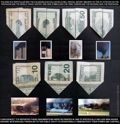 COINCIDENCE or CONSPIRACY?: Twin Towers and 9/11 on US dollar bill - Secrets of the FedSecrets of the Fed