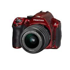 Pentax K-30 Weather-Sealed 16 MP CMOS Digital SLR with 18-55mm Lens (Red)