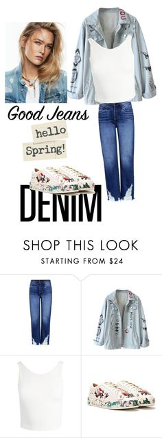 """Dspring"" by neelanjana-rumbangsha-railepcha on Polyvore featuring 3x1, Sans Souci, Nasty Gal and alldenim"