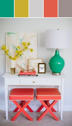 White Console Designed By Lisa Perrone | Stylyze Creative Director via Stylyze