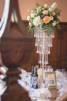 Great Gatsby Glamour. A 1920s Wedding at Middleton Hall. Wedding decor. Image by Jonathan Stockton Photography. Read more: http://bridesupnorth.com/2016/02/09/gatsby-glamour-a-1920s-theme-wedding-at-middleton-hall-catherine-scott/