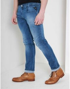 Our fantastic choice of men's jeans comes from only the best brands including Replay, Edwin, Nudie and True Religion. Replay, Best Brand, Denim, Jeans, Blue, Clothes, Fashion, Outfits, Moda