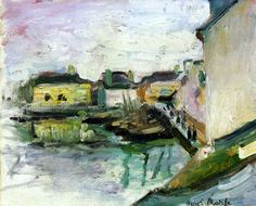 Henri Matisse - The Port of Palais  Belle-Ile