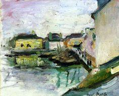 Henri Matisse - The Port of Palais  Belle-Ile