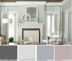 I think this would be a good color palette for my living room