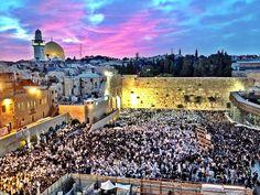 Western Wall in Old City of Jerusalem Israel