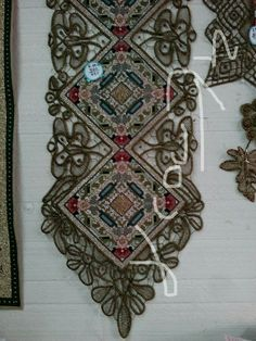 Cross Stitch Borders, Cross Stitch Patterns, Point Lace, Bohemian Rug, Embroidery Designs, Diy And Crafts, Projects To Try, My Arts, Rugs