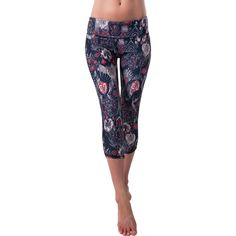 Jala+Clothing+Classic+Brocade+Yoga+Capri
