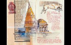 I taccuini di Stefano Faravelli, l'artista esploratore