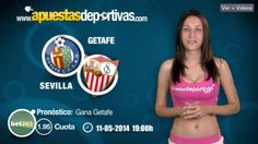 Pronóstico para el partido de liga Getafe vs. Sevilla #LigaBBVA