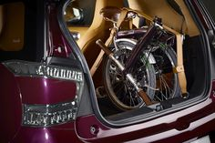 'Q by Aston Martin' Offers New Personalization Options to Customers, including a trim-and-colour-matched Brompton.