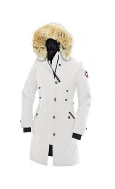 Find Canada Goose Kensington Parka White Women s Authentic online or in  Pumacreppers. Shop Top Brands and the latest styles Canada Goose Kensington  Parka ... f47338901