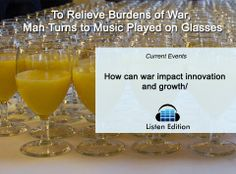 This man re-created @Patricia Harrell's Happy song on wine glasses. Listen to learn why: http://www.listenedition.com/2014/05/27/to-relieve-burdens-of-war-african-man-turns-to-music/