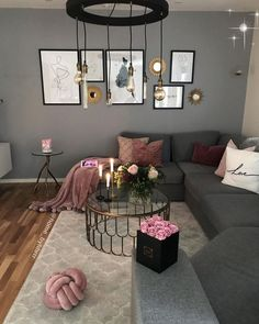 80 most popular cozy living room colors five 5 tips to create a perfectly casual it 38 - Bestplitka Inc Romantic Living Room, Living Room Decor Cozy, Living Room Colors, Living Room Grey, Decor Room, Home Living Room, Apartment Living, Interior Design Living Room, Living Room Designs