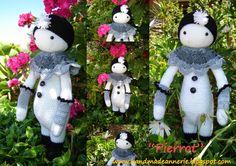 AnneRie - pierrot, pattern from lalylala