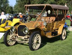 1910 Mitchell Model S touring Retro Cars, Vintage Cars, Antique Cars, Old Classic Cars, Old Cars, Exotic Cars, Touring, Automobile, Canada