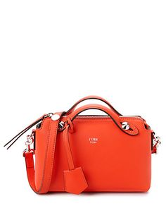 Rue La La — FENDI By The Way Mini Leather Boston Bag