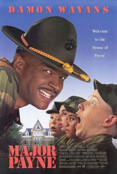 Major Payne posters for sale online. Buy Major Payne movie posters from Movie Poster Shop. We're your movie poster source for new releases and vintage movie posters. Funny Movies, Comedy Movies, Great Movies, 1990s Movies, Movies And Series, Movies And Tv Shows, Love Movie, Movie Tv, Plus Tv
