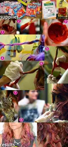 kool-aid dye job tutorial