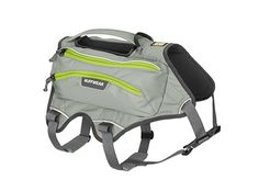 Singletrak Pack™ - Low-Profile Hydration Dog Pack - from Ruffwear:We Love Ruffwear. This was recommended by Runner's world.