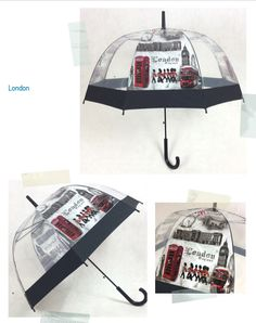6 Type Iron Tower Umbrella Transparent Rainny Sunny Umbrella Parasol Cute Umbrella Women Cute Clear Paraguas