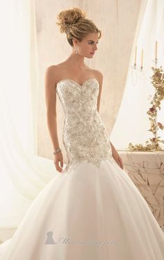 Mori Lee 2606 Dress - love the silhouette...love the hair.