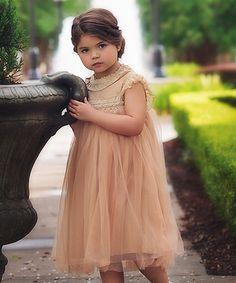Look what I found on #zulily! Butterscotch Allessandra Dress - Infant, Toddler & Girls #zulilyfinds