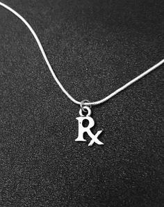 Pharmacy necklace, Pharmacist Necklace, Pharmasist Jewelry, Personalized Necklace, pharmacy school jewelry