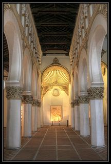 Synagogue of Santa Maria la Blanca, Toledo, Spain | Flickr - Photo Sharing!