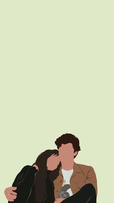 Art And Illustration, Illustration Wallpaper, Illustrations, Cartoon Wallpaper, Wallpaper B, Cute Couple Drawings, Cute Couple Art, Cartoon Kunst, Cartoon Art