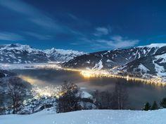 Snowy mountain ranges never fail to take my breath away...