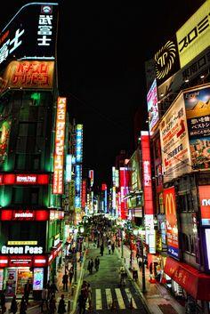 https://flic.kr/p/7963U9   Shinjuku, Tokyo, Japan   by Kona Photos