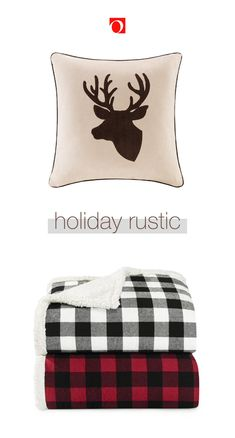 Deck your halls this season with festive, rustic Christmas decor from Overstock! Holiday Decorating, Christmas Decorations, Plaid Throw Pillows, Holiday Essentials, Festival Decorations, Memorable Gifts, Rustic Christmas, Seasonal Decor, Pet Adoption