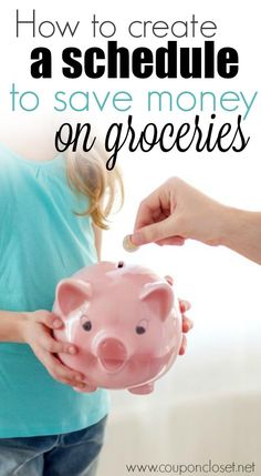 Why you Need a schedule to cut your Grocery Bill in Half - here are 3 easy tips to help you save money and time.