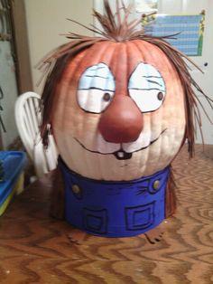 Little Critter story book pumpkin character- 1st place winner in school contest