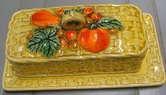Vintage Lefton Butter Dish