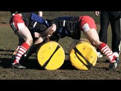 Powerade Better Your Best - '1 Vs 1 Tackle Contest' Rugby Training Drill - YouTube