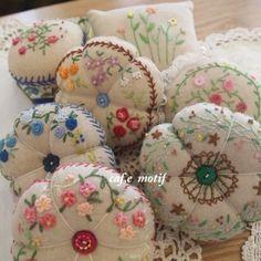 #Embroidery#stitch#프랑스자수#자수#일산프랑스자수공방#호박핀쿠션~ 호박에꽃이피었습니다~